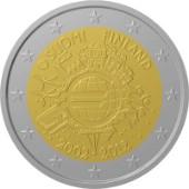 2 euro 2012 Finlandia 10° Anniversario Euro