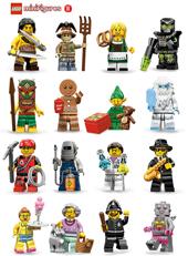 barbaro 11 serie lego minifigures